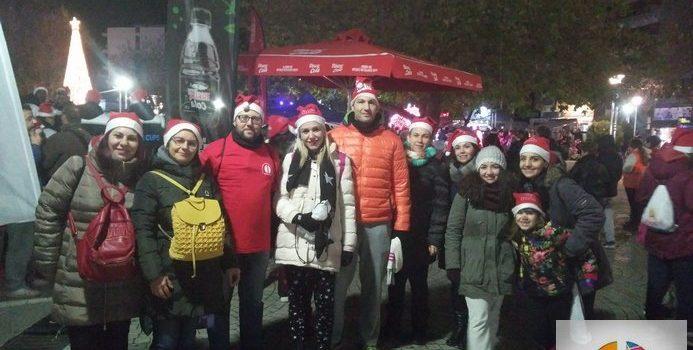 Οι Φιλοτέχνες στο 3ο Santa Run και στην έναρξη των Χριστουγεννιάτικων Εκδηλώσεων του Δήμου Κομοτηνής