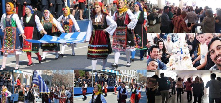 Οι Φιλοτέχνες στην παρέλαση της 25ης Μαρτίου